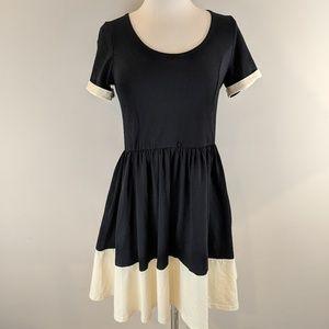 ASOS • Black and Cream Casual Dress [Dresses]